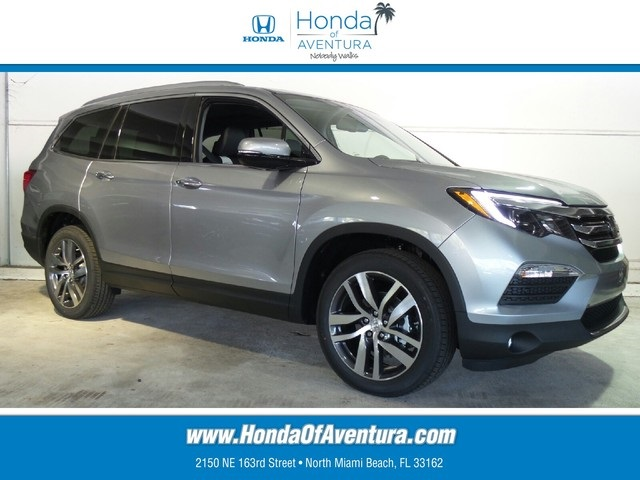 certified pre owned 2016 honda pilot elite 4d sport utility in north miami beach gb127518. Black Bedroom Furniture Sets. Home Design Ideas